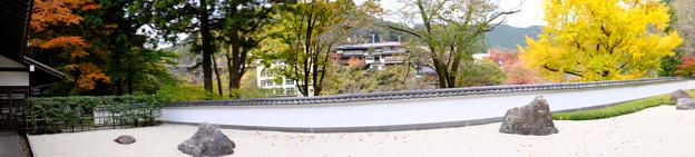 玉堂美術館の枯山水パノラマ1