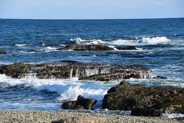 昼の海(波)