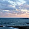 4時半過ぎの海(南)