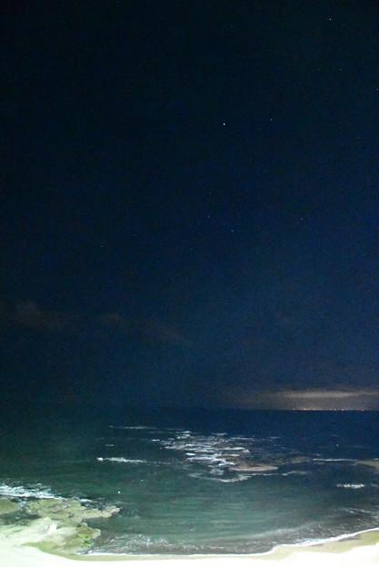 夜の海と星空ISO51200