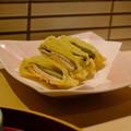 宵山の夕食2(湯葉とチーズの天ぷら)