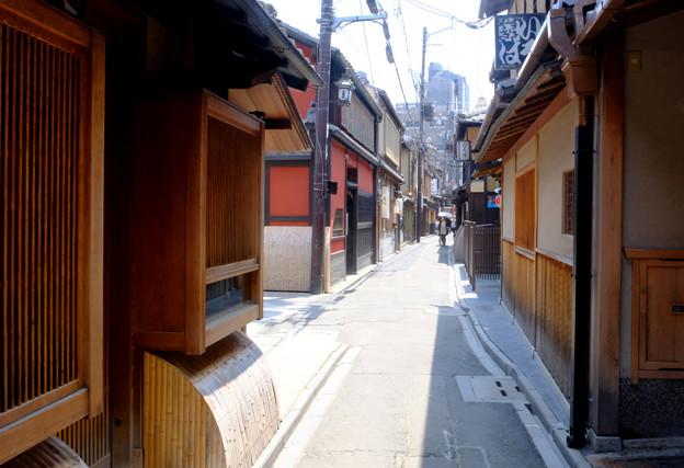 Photos: 先斗町へ