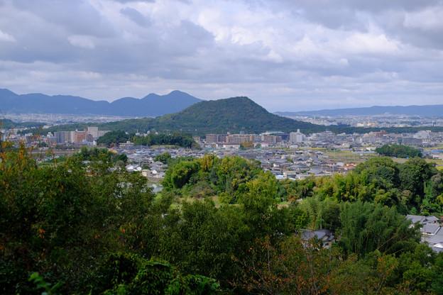 甘樫の丘から畝傍と二上山