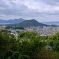 Photos: 甘樫の丘から畝傍と二上山