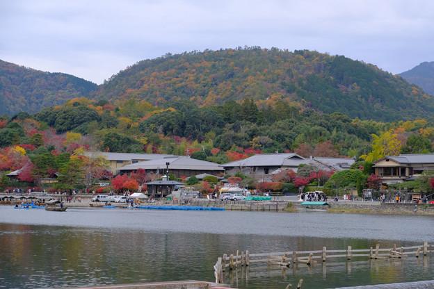 小倉山方面