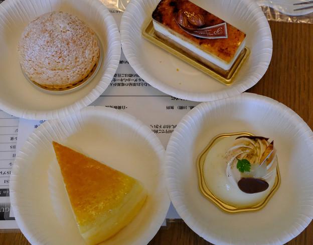 ホテルのケーキ