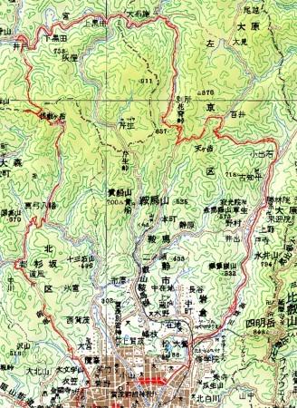 20070616百井峠・桟敷ヶ岳チャリトレ