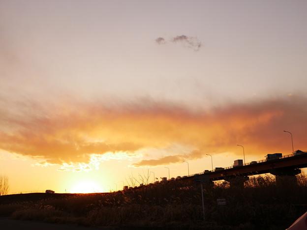 夕日へのキャラバン隊