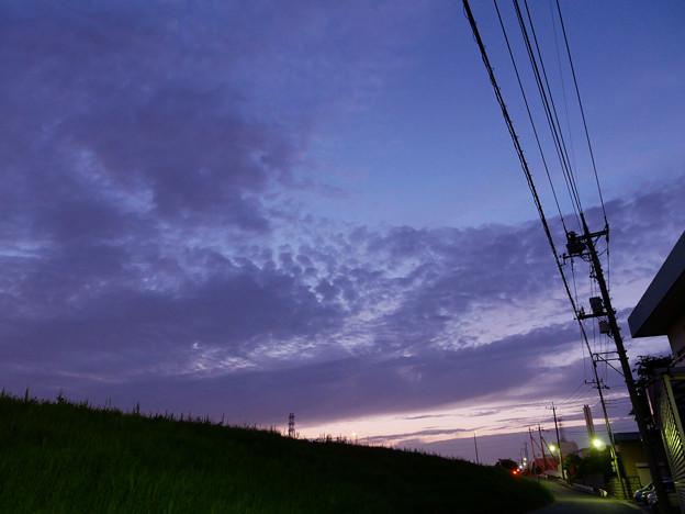 Photos: 今日も金星などは雲で見えず