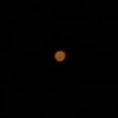 望遠レンズで火星1