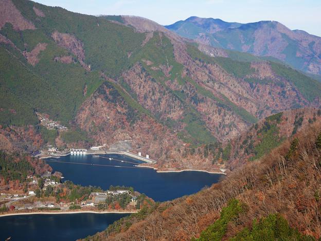 奥多摩湖、小河内ダム