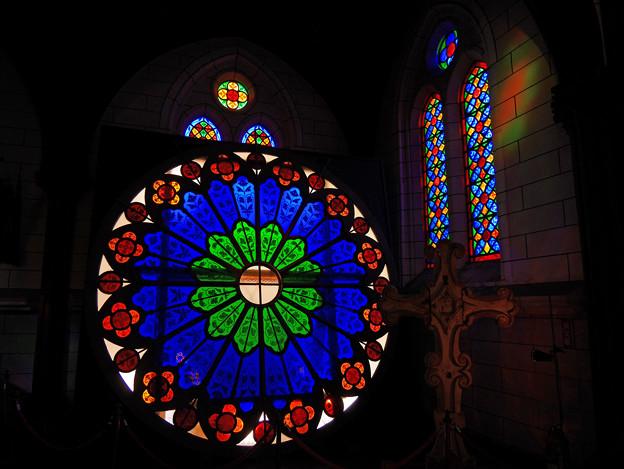 薔薇窓~聖ザビエル天主堂