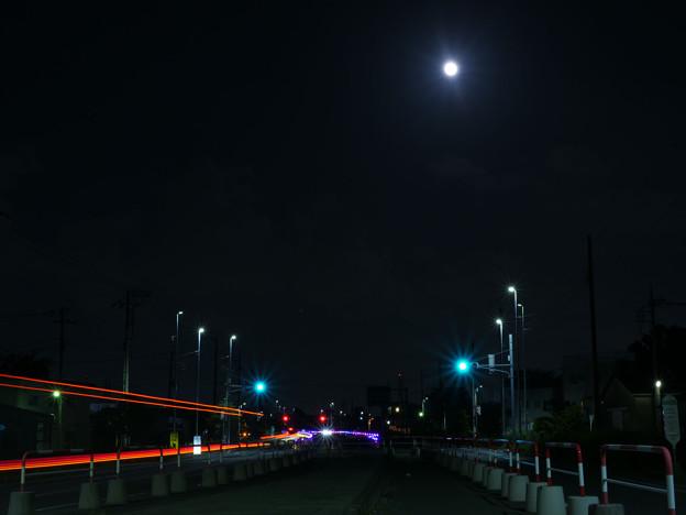 令和になって最初の満月の夜