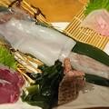 Photos: ヤリイカ姿造り <後作り 天ぷら付き>