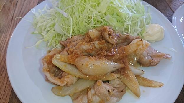 国産豚バラ生姜焼き