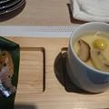 Photos: 秋刀魚の握りと季節の茶碗蒸し