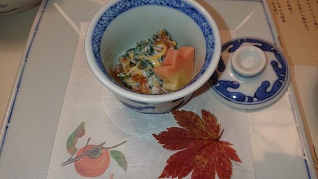 (2)柿の白和え