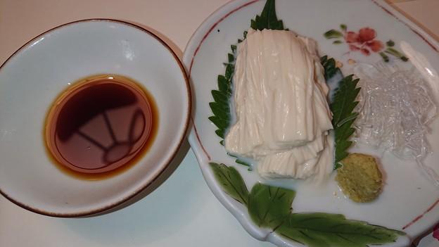 (5)湯葉のお刺身