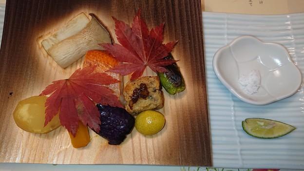 (9)金目鯛 杉板焼き