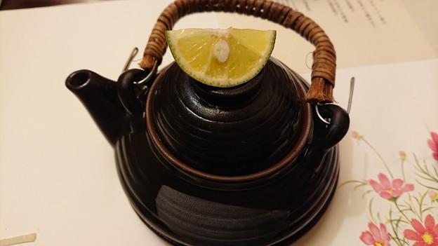 (11)コース外 松茸の土瓶蒸し
