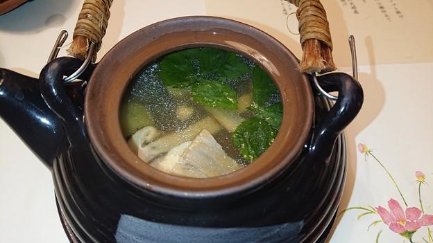 (12)コース外 松茸の土瓶蒸し