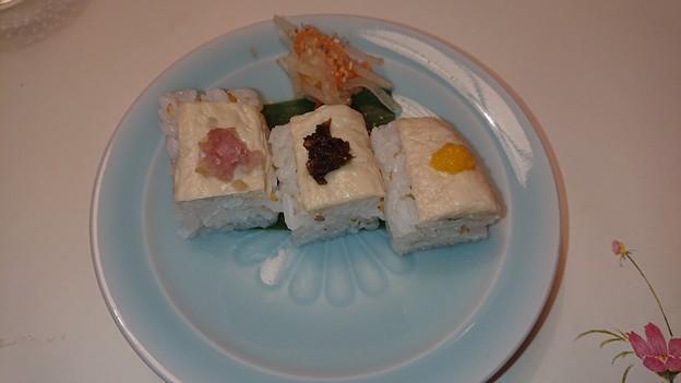(14)湯葉小袖寿司