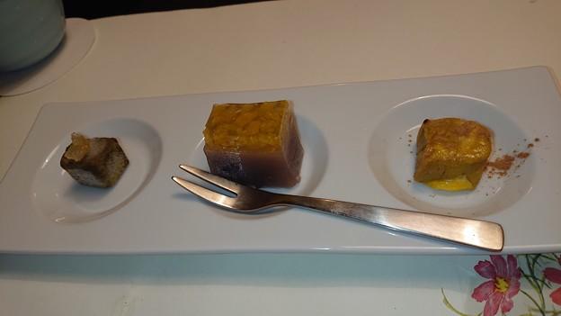 (16)デザート三種