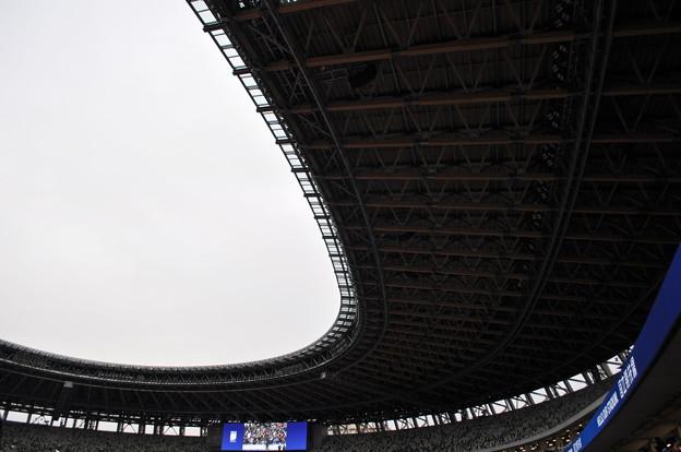 国立競技場 屋根