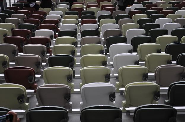 国立競技場 椅子