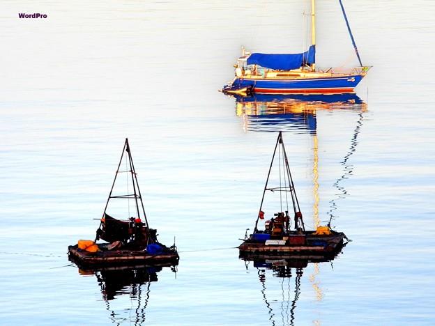 マニラ湾の夜明け