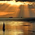 写真: Sunset at Manila Bay Today