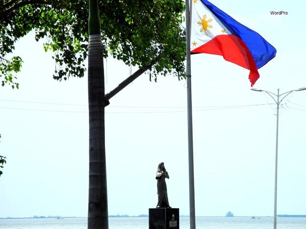写真: フィリピン慰安婦像