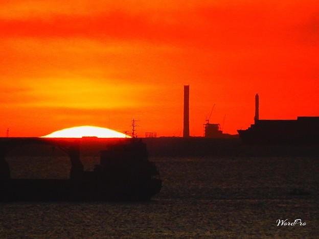 マリベレスに沈む夕陽