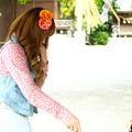 写真: 昭和風景と平成少女2