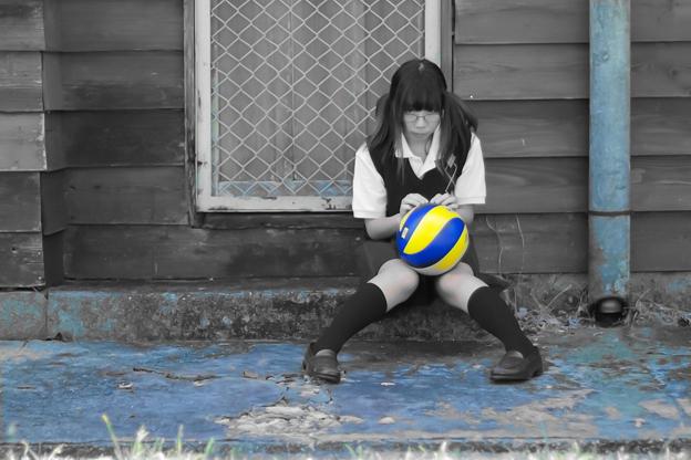 写真: 排球2