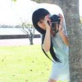 写真: 見つめるカメラ2