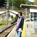 Photos: 雪解けの駅