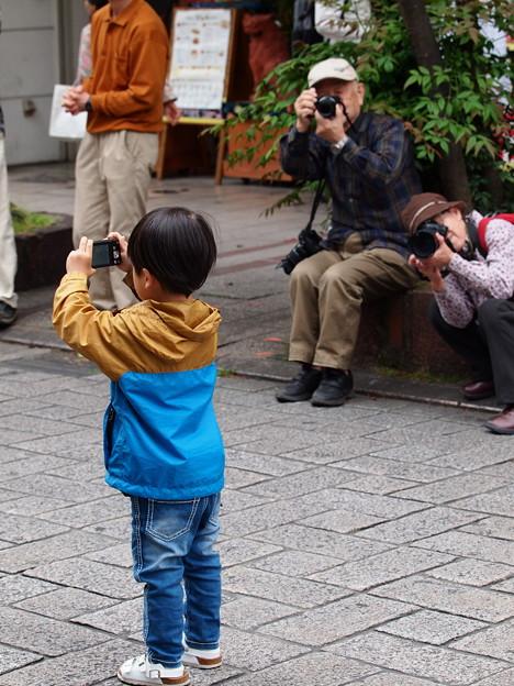 撮るコを撮る人達を撮る