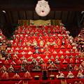 伊豆稲取の雛壇飾り
