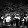 Photos: 夜桜と露店と