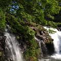 写真: 鮎返しの滝
