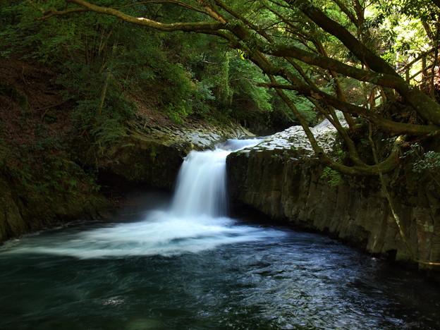 写真: へび滝