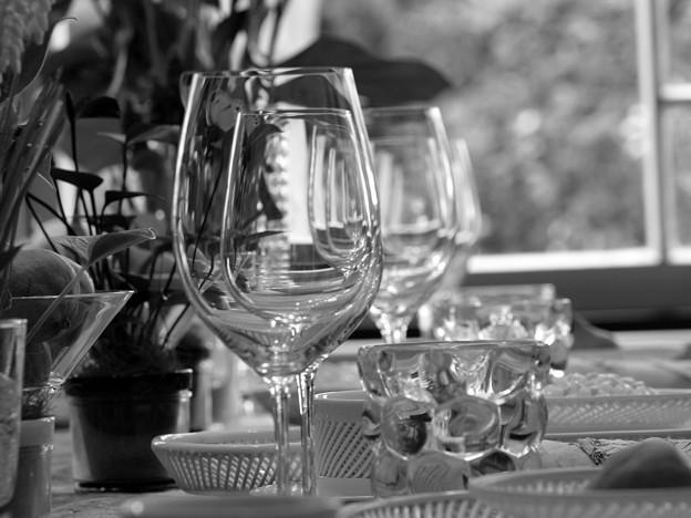 夏の食卓~グラス