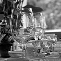 夏の食卓~幾重ものグラス