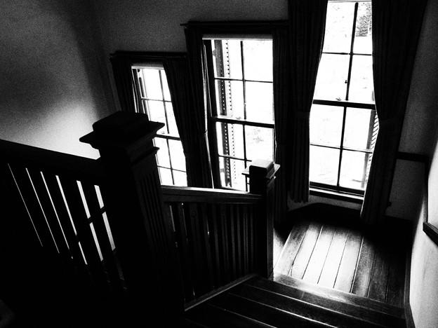 階段話し…じゃないですよ^^;