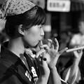 Photos: 笛吹けど…踊ります^^;