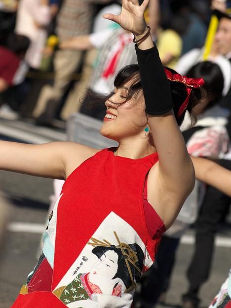 三島サンバパレードの舞は続く