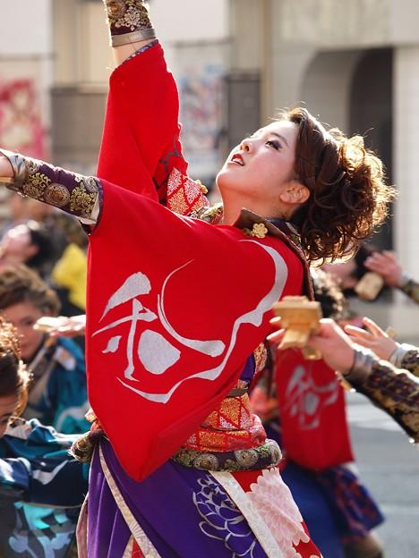 よさこい東海道 2018 前日祭に舞う -a