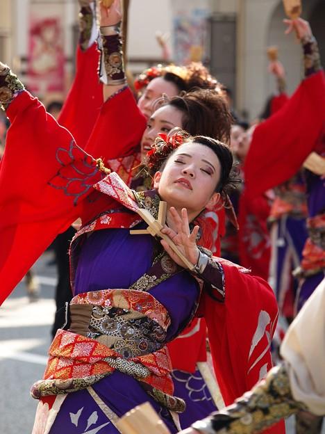 よさこい東海道 2018 前日祭に舞う -c