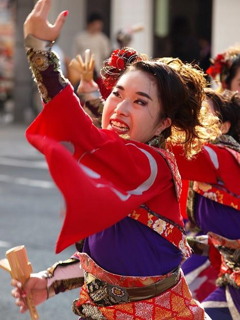 よさこい東海道 2018 前日祭に舞う -d